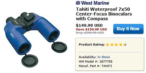 Tahiti Binoculars Sale